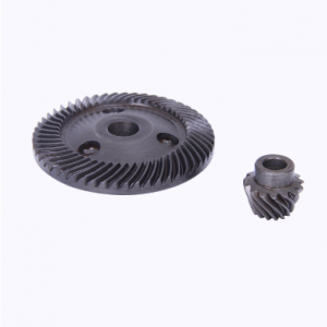 Aluminum spur gear in stock for angle grinder 1