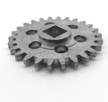 Custom Precision Nonstandard Sized Cast Aluminum Spur Gear